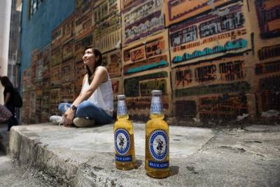 這一款啤酒叫香港味道