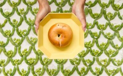 「毛豆」可以補充膳食纖維與大豆異黃酮 貝果加入「這一味」,柔軟度更增加30 ...期間限定上市!