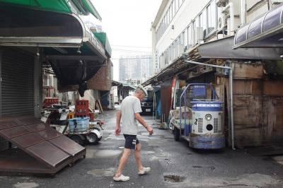 再見搬遷前 火災後的東京築地市場