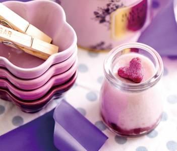輕鬆做 ‧ 優雅吃 的玻璃瓶甜品「鮮淮山紫薯奶凍」