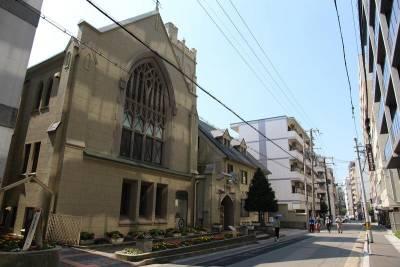 這間神戶老教堂 藏著好美的咖啡館