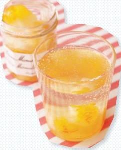 橘汁冰沙瓦 台灣好食材
