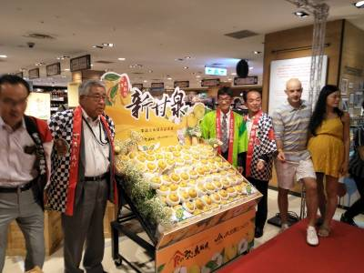 日本鳥取縣絕佳好梨 新甘泉梨果品上市 全國新光三越超市9 14~18限量預購